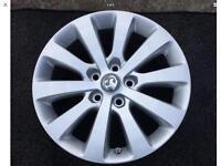 Vauxhall Astra Mk6/Zafira 17 Inch Alloy Wheels
