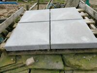 Concrete Paving Slabs - 400mm x 400mm x 63mm thick - Garden or Driveway - 3000+ Slabs Available
