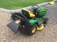 JOHN DEERE LTR 180 SIT ON TRACTOR MOWER
