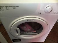 Washing machine Hotpoint white good condition free delivery if local