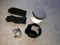 Genuine Ugg earmuff headphones and glove set