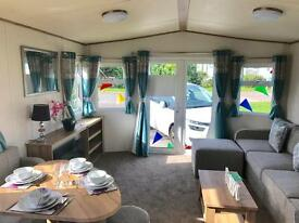 DOUBLE GLAZED / CENTRAL HEATED STATIC CARAVAN FOR SALE ON THE NORTH EAST COAST