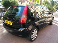05 FORD FIESTA 1.2 ENGINE, 5 DOOR ****CHEAP FOR INSURANCE AND TAX****