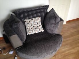 Corner Sofa for sale with swivel chair