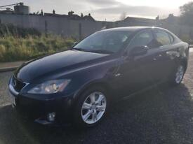 2005 LEXUS IS 250, AUTOMATIC, DRIVES SUPERB & LOOKS GREAT. SERVICE HISTORY. FULLY VALETED.