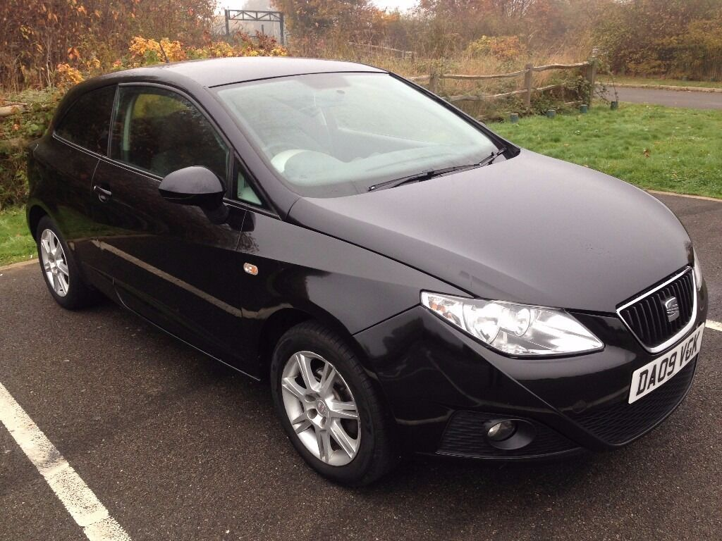 seat ibiza 2009 black in heathrow london gumtree. Black Bedroom Furniture Sets. Home Design Ideas