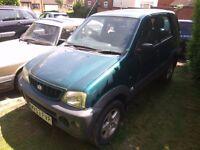 2003 Daihatsu Terios 1.3 Auto 4x4 - £500 !