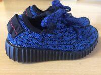 adidas yeezy/infant sized Kanye west trainers/designer