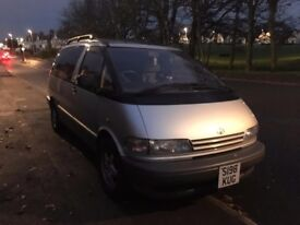 Campervan Conversion Toyota Previa 2.4 GX - Much cheaper than a Transporter! Sink/Bed/Fridge/Storage