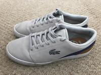 LACOSTE SIZE 7 SHOES (USED BUT IN GREAT CONDITION)