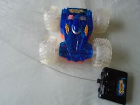 Wireless remote control Flashing Warrior stunt car