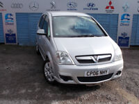 PART X DIRECT OFFERS VAUXHALL MERIVA 1.4 DRIVES A1 COMES WITH NEW MOT WARRANTY + FULL SERVICE !!