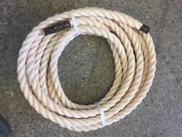 24mm decking rope x 9 metres, brand new, garden rope, diy rope, outdoor rope