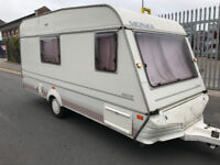 Abi monza limited edition 4 berth caravan with 4 berth awning - everything working ready to use