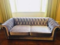 Deluxe Mink Velvet Sofa Bed
