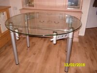 styleish glass topped table