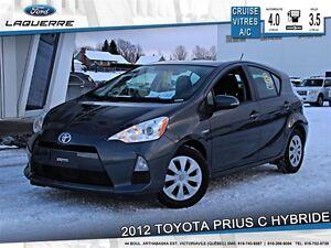 2012 Toyota Prius c **HYBRIDE*AUTOMATIQUE*CRUISE*A/C**