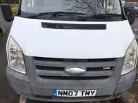 2007 FORD TRANSIT 2.2 SWB 85 T280S PLYLINED, NEW MOT, TOW BAR, NO RIPS OR TEARS