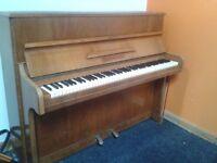 German overstrung piano