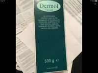 Dermol cream 500g brand new is £11.99