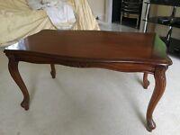 Lovely Wooden (mahogany?) Coffee Table