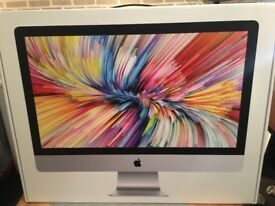 Apple Mac for sale, 27 inch, with 5K Retina display, brand new hasn't been opened