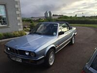 1990 BMW 320I automatic convertible