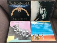 4 x Boomtown Rats Vinyl Records