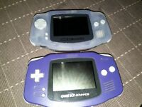 2 Gameboy Advance for Sale
