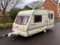Bailey pageant End kitchen 2 berth motor mover awning