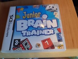 Junior Brain Trainer Nintendo Ds game
