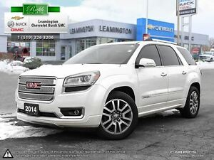 2014 GMC Acadia LOCALLY OWNED-DENALI EDITION- AWD