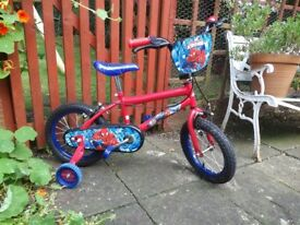 "14"" Spiderman Bike"