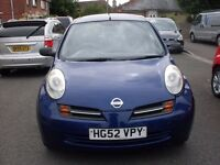2003 NISSAN MICRA S 1.2 MOTED OCT 16 HISTORY