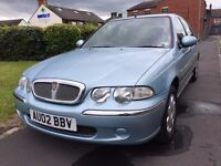rover 45 il turbo diesel 5door 2.0L Next MOT due 17/08/2018,