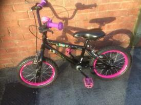 Girls Bicycle with 16 inch Wheels