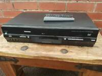 Toshiba ,SD-38VB,DVD video player /video cassette recorder with remote