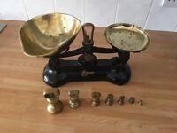 Vintage type kitchen scales