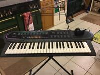 Casio CKT 80 keyboard and stand