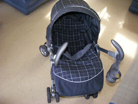 stroller (mamas & papas ) includes waterproof cover ,cozytoes ect great condition