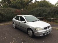 Vauxhall Astra 1.6i Club, 5 door, FSH And 12 Months M.O.T