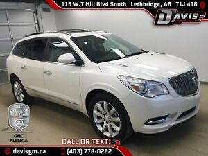 Used 2015 Buick Enclave AWD Premium-DVD, Moonroof,Heated/Cooled