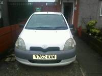 Toyota yaris 1 liter 16v sport vvti for sale or swop