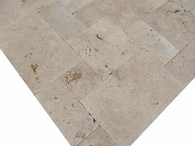 Terrassenplatten Natursteinplatten Travertinplatten Medium Rustic Wohnrausch