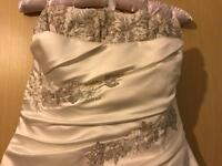 Marsella Ivory Wedding Dress Size 14