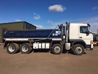 12 Plate Volvo FM 8x4 420 Insulated tipper 13 litre engine
