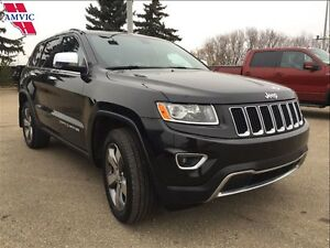 2014 Jeep Grand Cherokee LIMITED 4X4 LOADED 66800KM