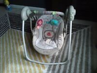 Baby Swing- Bright Starts Cosy Kingdom, used but like new