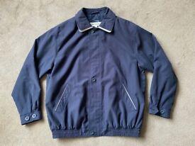 Mens Lightweight Northwood Jacket Size L Navy