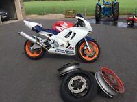 1997 Honda CBR 600 track bike / ex race bike